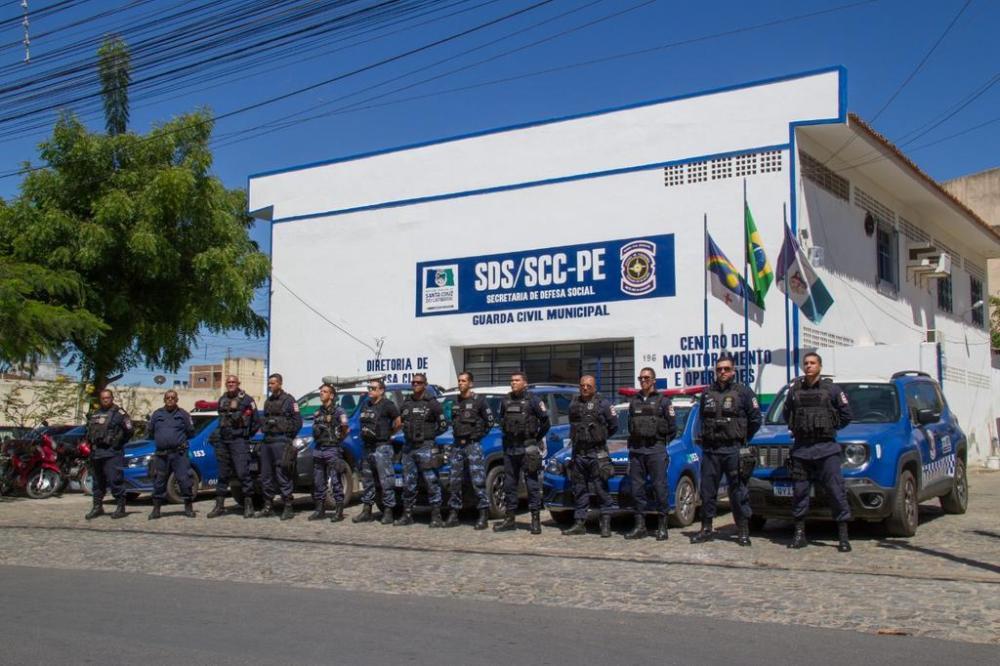 Guarda Civil realiza cadastramento dos vigilantes das ruas de Santa Cruz do Capibaribe