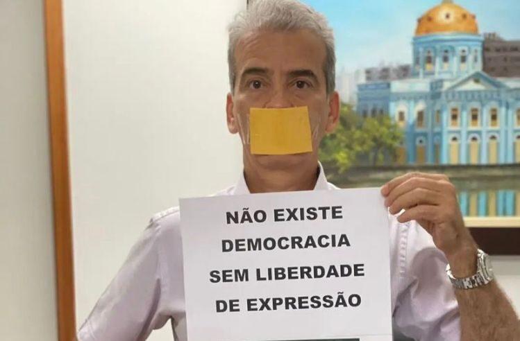 Deputado pernambucano Alberto Feitosa convoca público para protesto favorável ao presidente Jair Bolsonaro