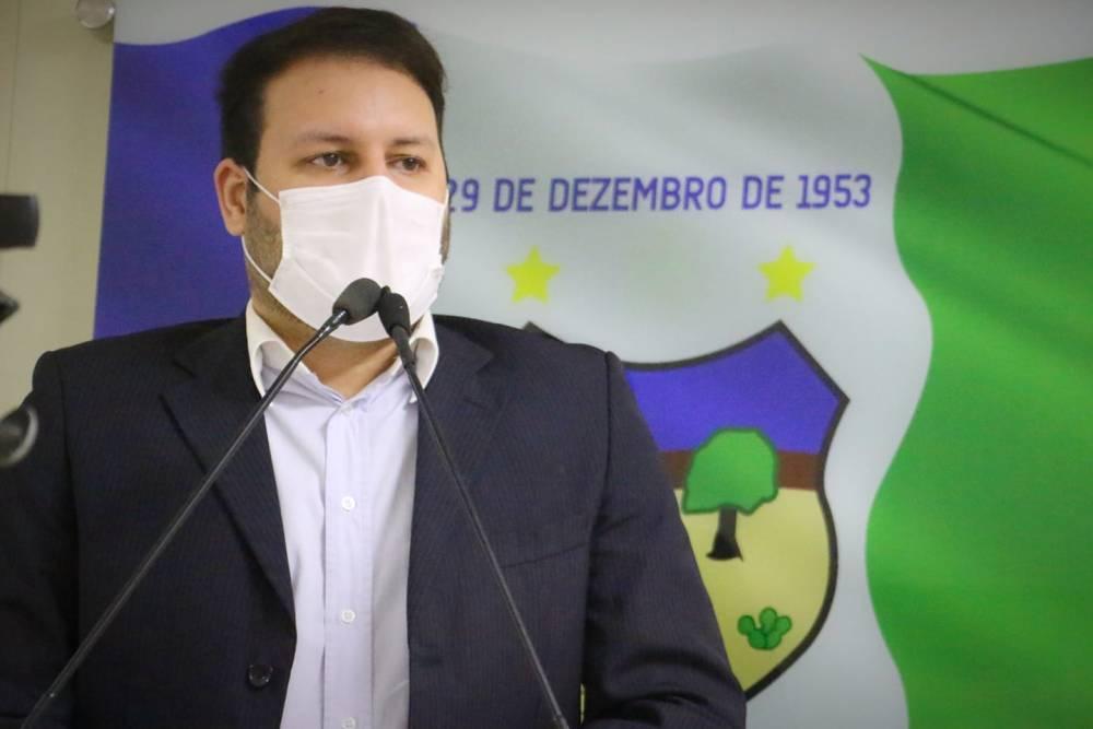 Augusto Maia destaca entrega de frota de veículos pela Prefeitura de Santa Cruz