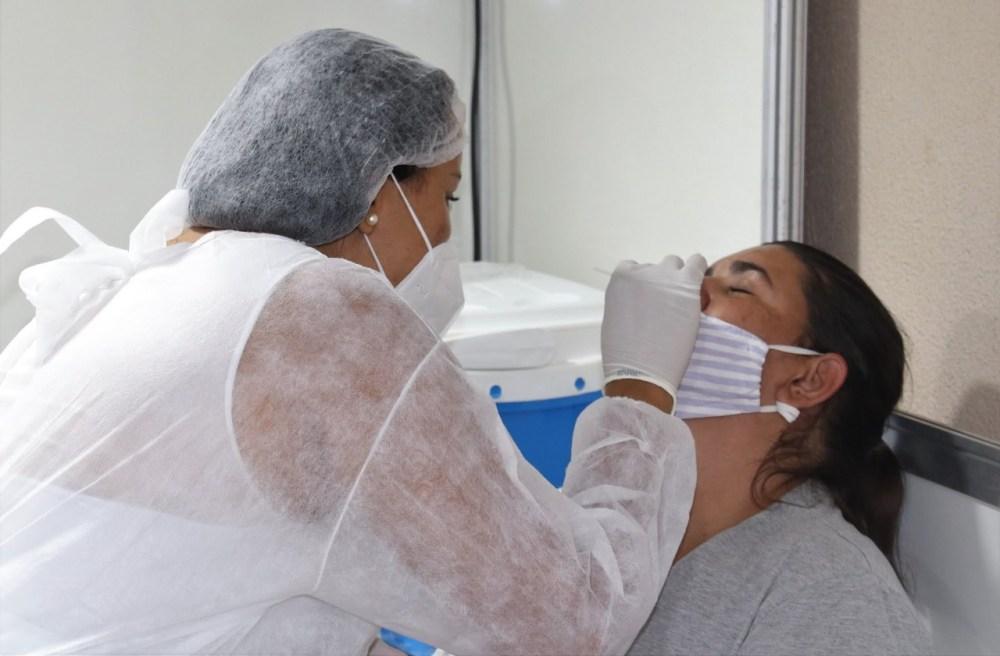 Moda Center receberá mais ações de testagem para detecção do novo coronavírus