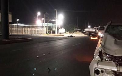 Animal solto na pista provoca acidente na PE-160, em Santa Cruz do Capibaribe
