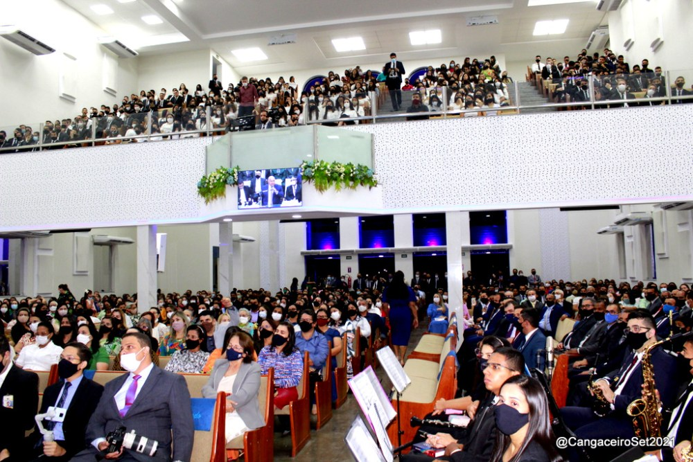Igreja Assembleia de Deus inaugura amplo templo em Santa Cruz do Capibaribe