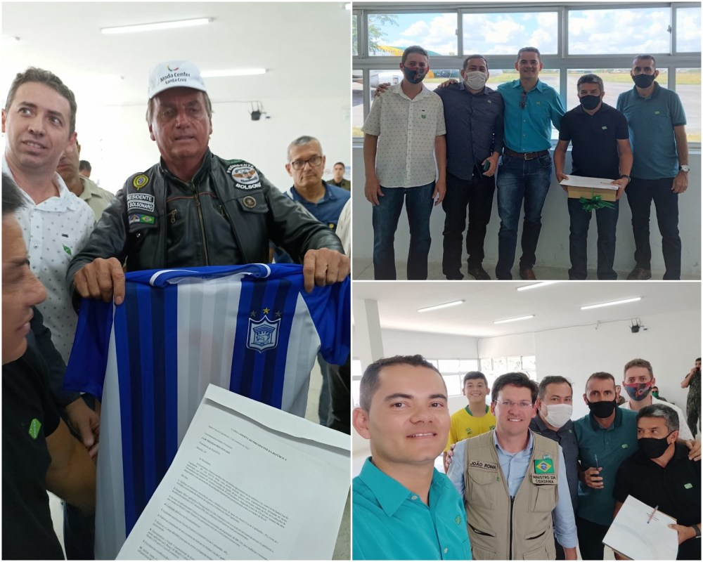Síndico e diretores do Moda Center entregam carta aberta ao presidente Jair Bolsonaro