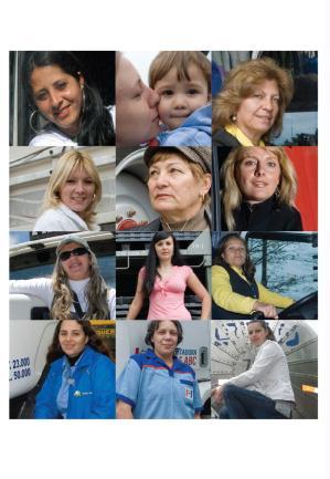 Essas 12 mulheres trocaram o conforto do lar pelas curvas sinuosas das estradas. Conheça algumas dessas profissionais