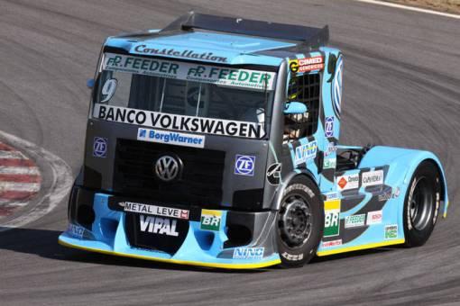 Renato Martins e seu Volkswagen Constellation