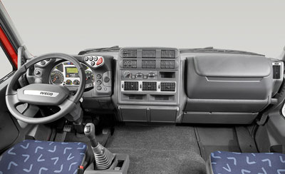 Painel do Iveco Tector Stradale