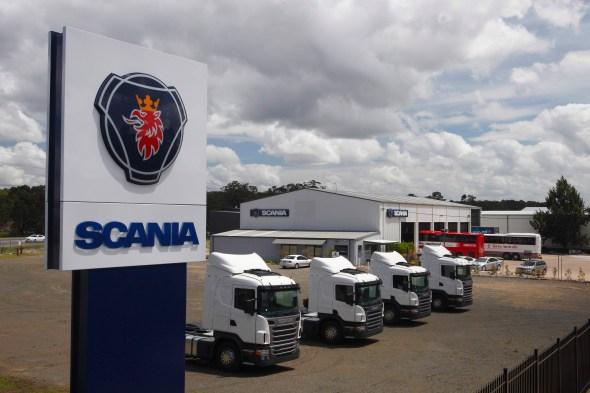 Scania Newcastle 2010 na Concessionaria