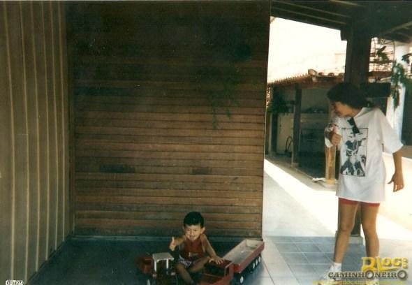 Eu e meus antigos brinquedos!
