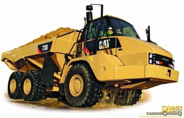 Cat Articulated Dump Trucks