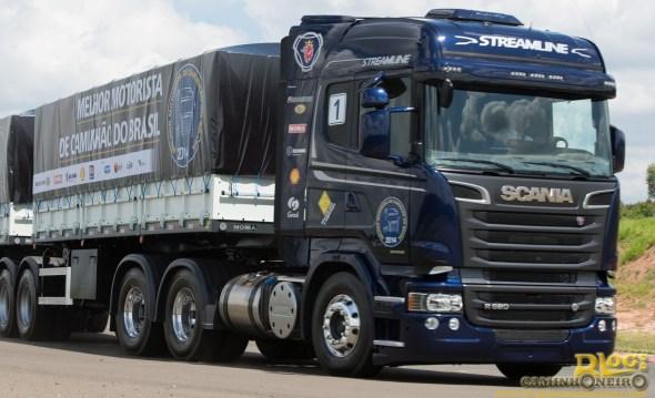 Scania R620 V8 - Teste de percurso