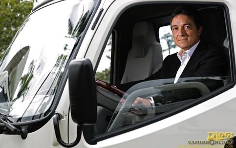 Orlando Merluzzi, vice-presidente da Foton, tem a meta de conquistar 5% do mercado em oito anos