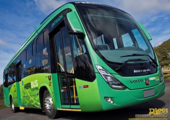 Onibus Hibrido Volvo