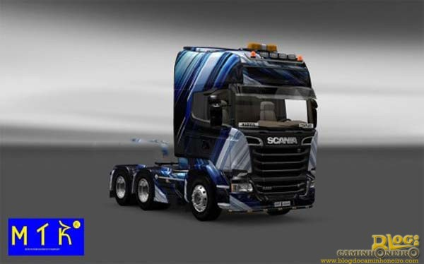 Skin-Scania-Streamline-Blue-Stripes