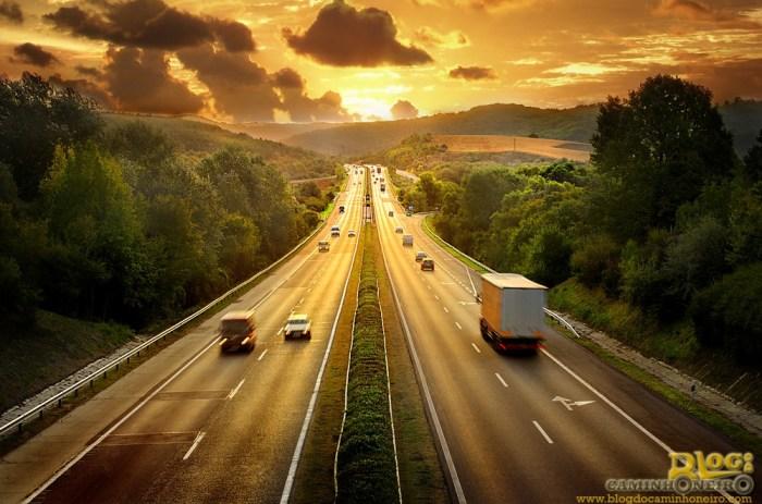 estradas - caminhoes