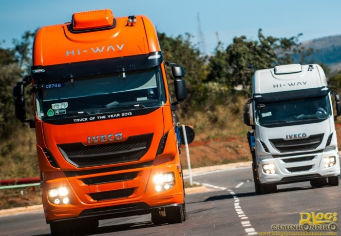 caminhoes iveco stralis hi-way
