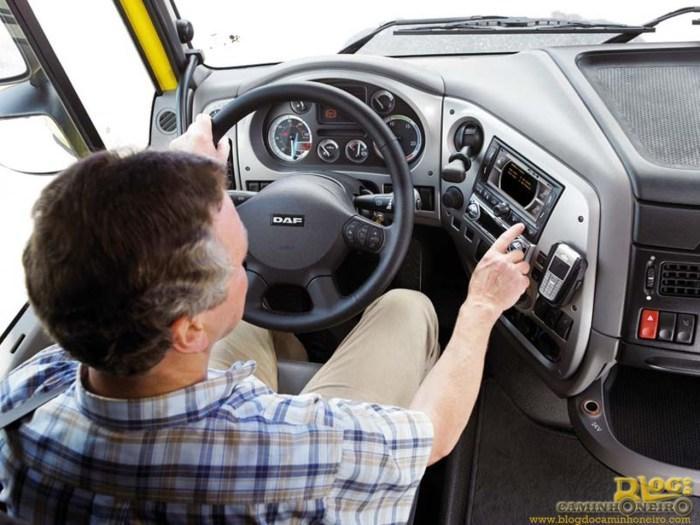 motorista daf caminhoneiro