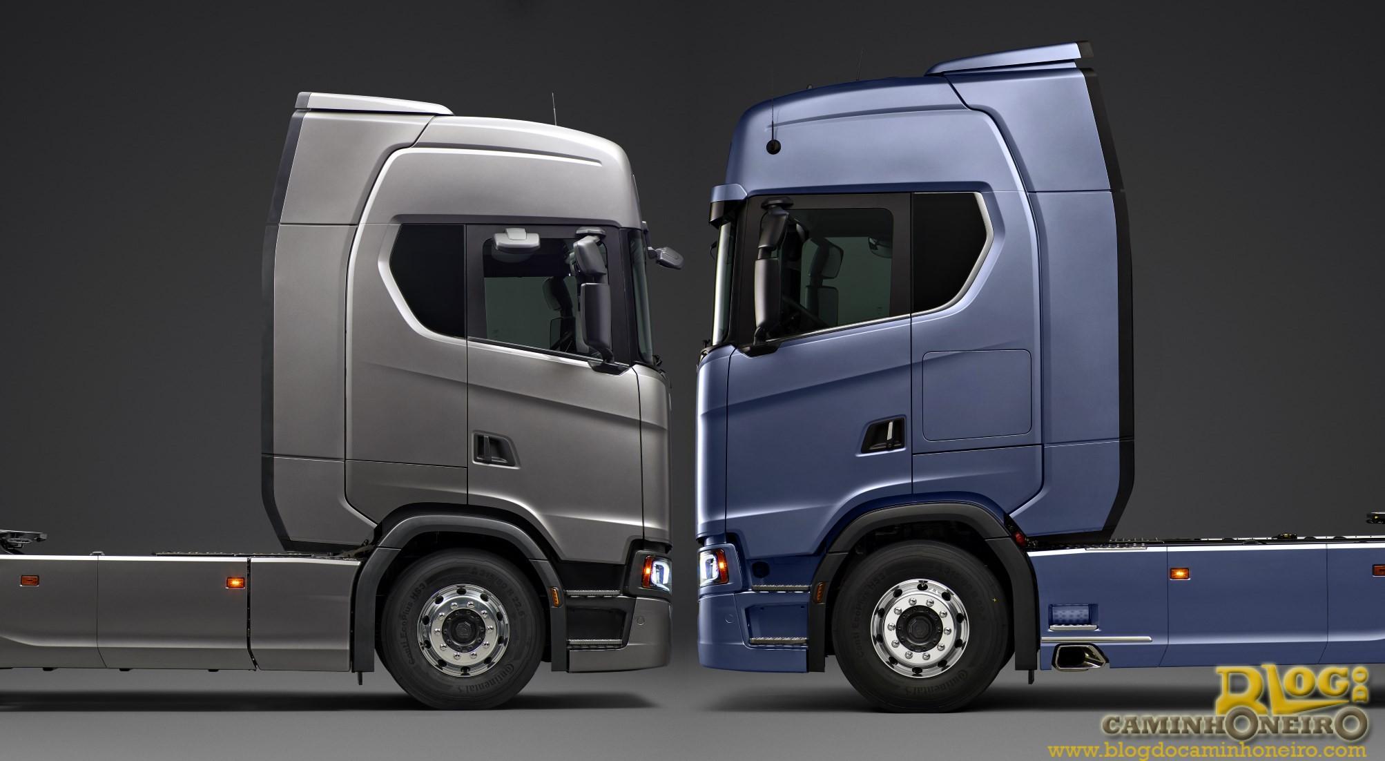 Nova Linha Scania Ter 225 24 Variantes De Cabine Blog Do Caminhoneiro