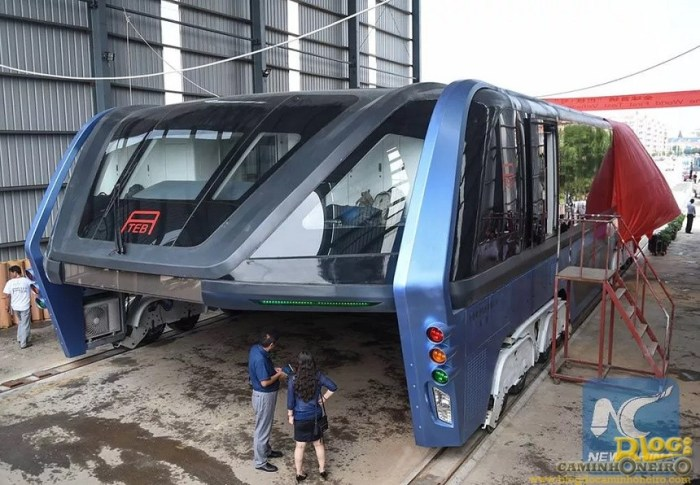 Transit Elevated Bus china (1)