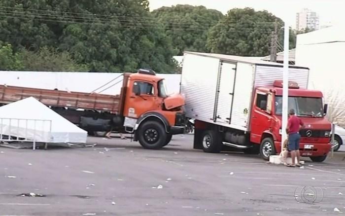 quebrada de asa caminhoneiro acidente