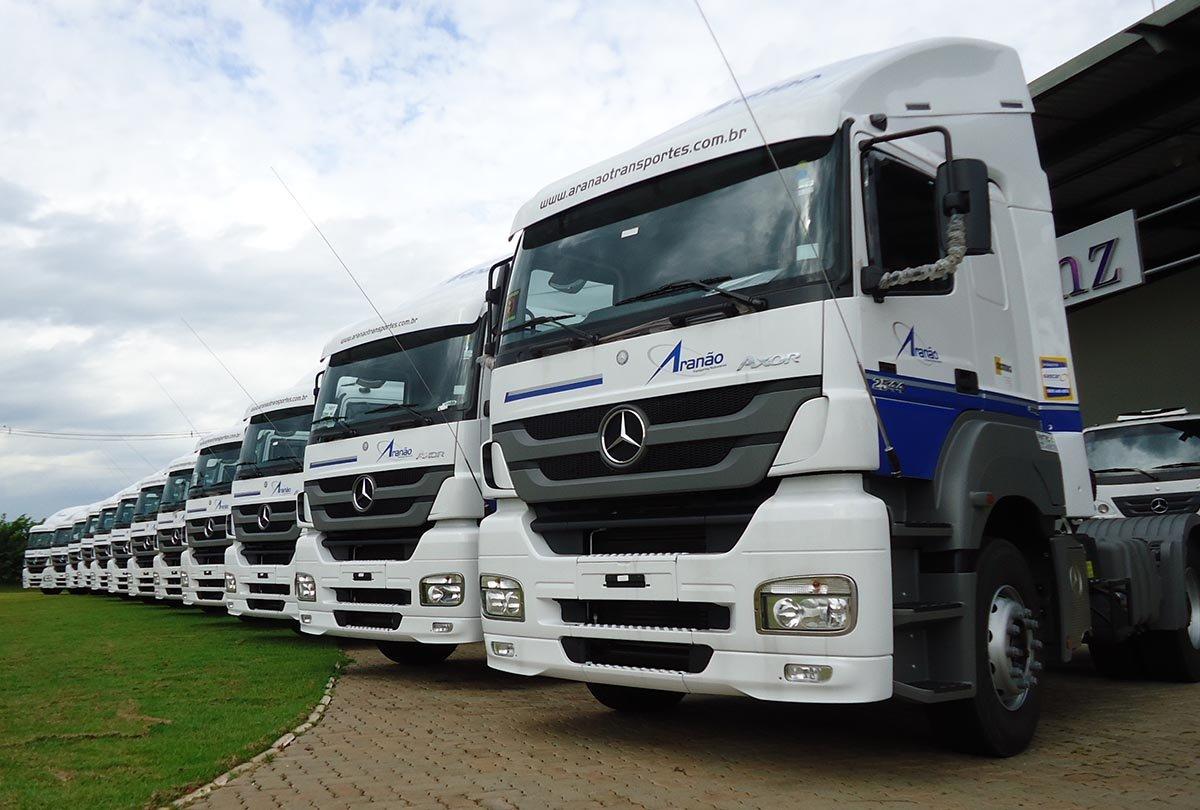 Aranão Transportes anuncia contratação de 60 motoristas em Piracicaba-SP
