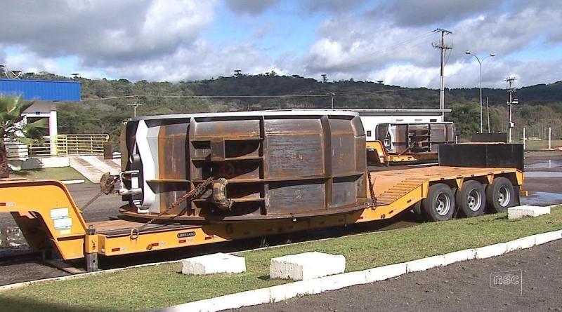 Indústria de equipamentos pesados de SC sofre sem escolta da PRF