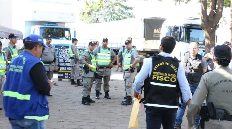 Operação fiscaliza uso da carta-frete no transporte de cargas em Goiás