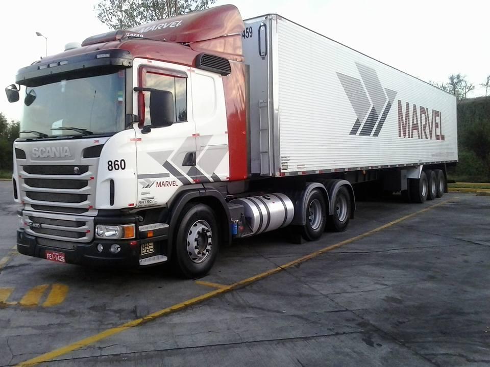 Marvel Transportes tem vagas para motoristas carreteiros aprendizes