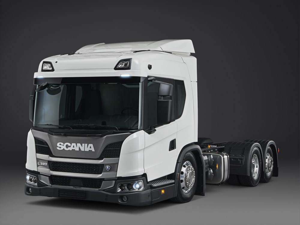 Nova Scania L - Conheça o caminhão rebaixado da Scania para operação urbana