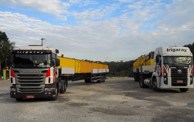 Grupo Irigaray tem vagas para motoristas truck e operador de guindastes no Rio Grande do Sul