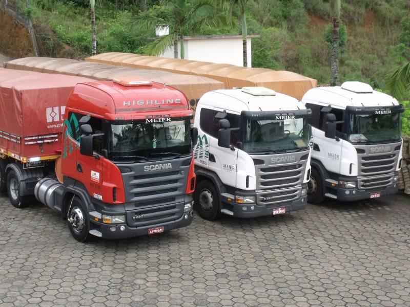 Meier Transportes tem vagas para agregar caminhões truck no Paraná