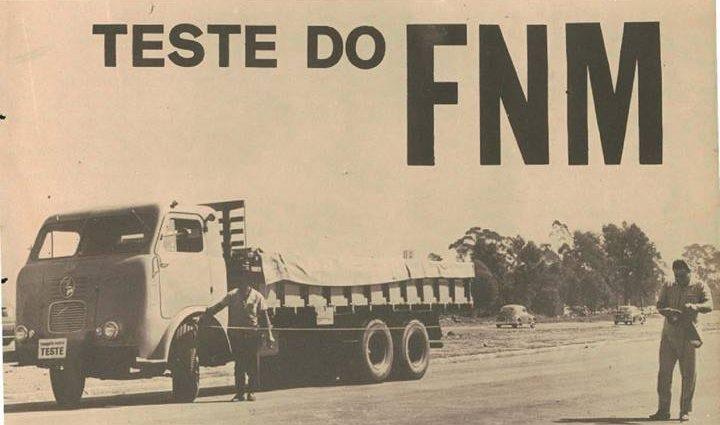 Como se saía na estrada o FNM D-11000 V-12?