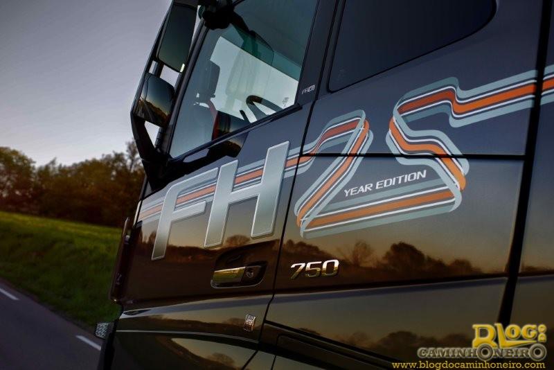 Volvo lança série especial para comemorar 25 anos do FH