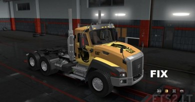 ETS 2 – CAT CT660