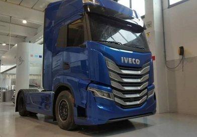 Novo caminhão Iveco é flagrado na Europa