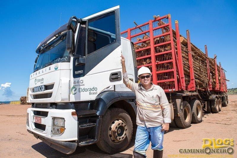 Eldorado Brasil tem 34 vagas para motoristas carreteiros tritrem em Água Clara-MS