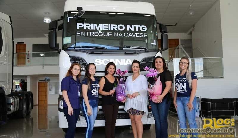 Nova linha Scania começa a ser entregue para clientes