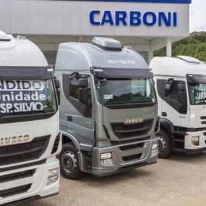 Carboni é a maior distribuidora de caminhões Iveco no Brasil