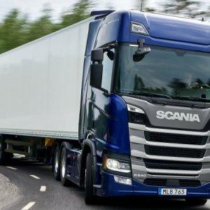 Scania lança motor de 13 litros e 540 cv na Europa