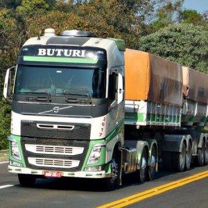 Buturi Transportes tem vagas para motoristas truck e carreteiros em quatro estados