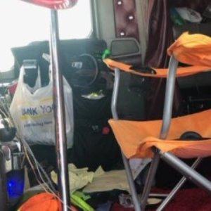 Polícia dos Estados Unidos flagra caminhão com problema incomum