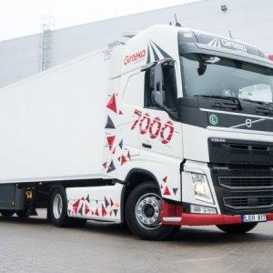 Girteka Logistics chega a marca de 7 mil caminhões em sua frota própria