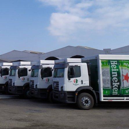Heineken se torna o maior frotista de caminhões Volkswagen do México