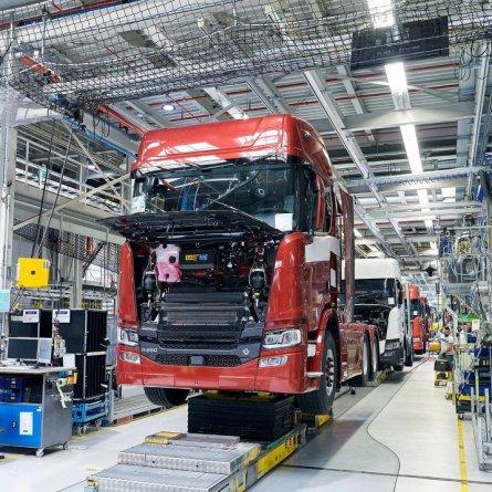 Produção de caminhões está se recuperando