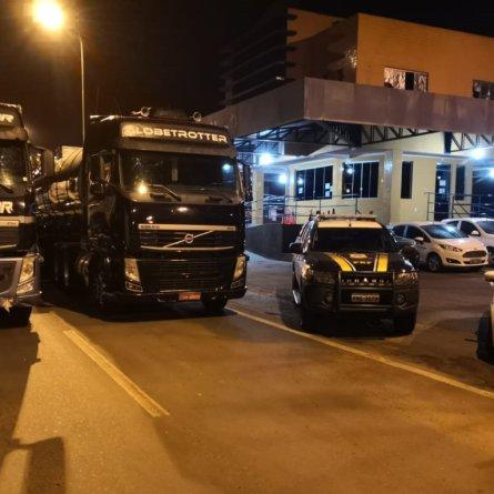 Conclusão da Polícia Civil de Goiás é de que Volvo FH da Rodojunor foi clonado
