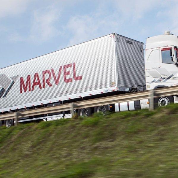 Transportes Marvel contrata motoristas carreteiros na Região Sul
