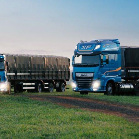 DAF sorteia hoje dois caminhões XF pelo Youtube