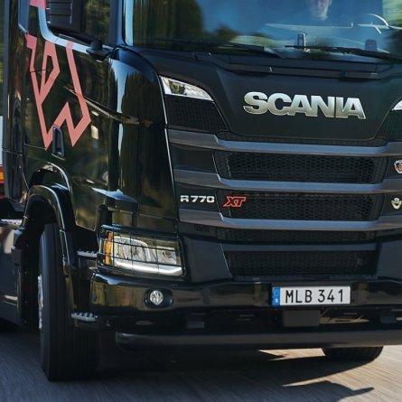Oito anos foram necessários para o desenvolvimento dos novos motores V8 da Scania