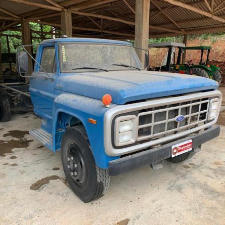 Caminhão Ford fabricado em 1988 é encontrado com apenas 19 mil km rodados