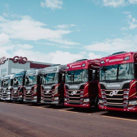 Grupo G10 adquire 200 caminhões Scania R 500 e R 540