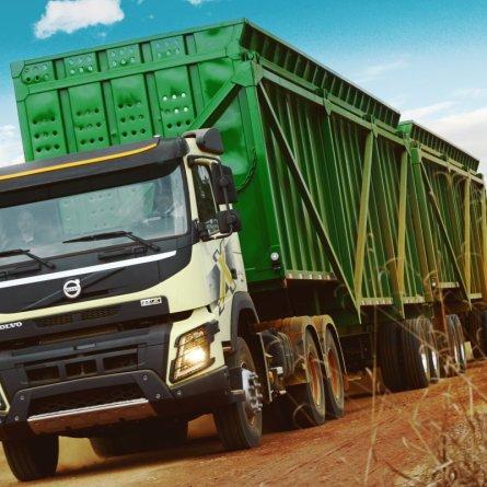 Raízen adquire 210 caminhões Volvo FH e FMX para safra de cana-de-açúcar